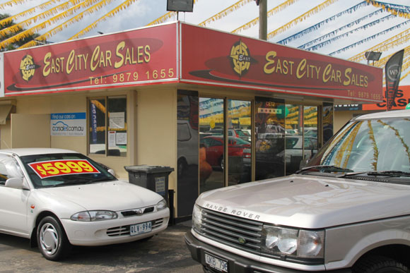 East City Car Sales Dealership
